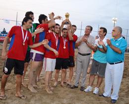 Plaj futbolu ligi'nde iskenderun ve karataş etapları tamamlandı 17