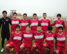 U16s beat Romania: 3-1