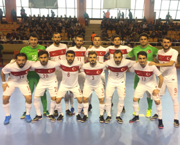 Futsal National Team lose to Russia: 4-0