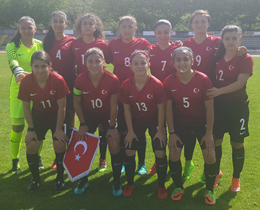 Womens U17s draw against Portugal: 2-2