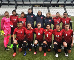 Womens A National Team beat Montenegro: 3-0