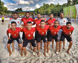 Beach Soccer National Team lose to Belarus: 2-1