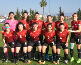 Womens U17s lose to Russia: 3-0