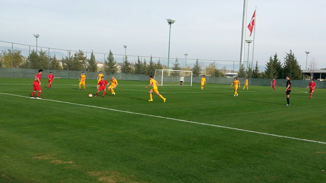 Moment in the first games; photo: TFF