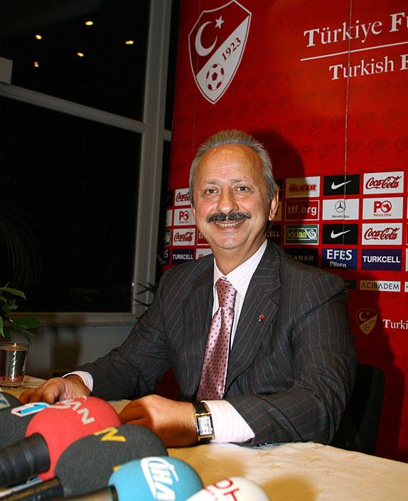 Türkiye futbol federasyonu başkanı haluk ulusoy bugün yaptığı