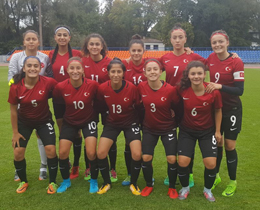 Womens U17s lose to Netherlands: 3-0