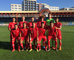 U18s lost against Czech Republic: 3-0