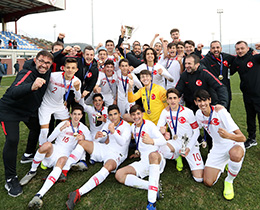 Turkey win the 20th Mercedes-Benz Aegean Cup