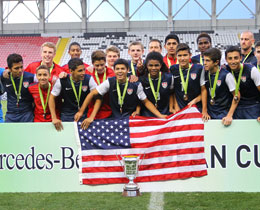 USA win 2014 Mercedes-Benz Aegean Cup