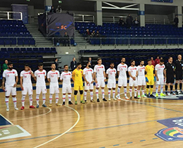 Futsal National Team lost against Hungary: 3-0