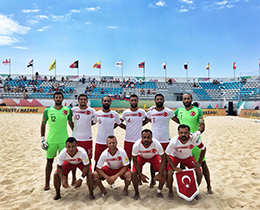 Beach Soccer National Team lost against Russia: 5-2