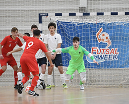 Futsal U19s draw with France: 2-2