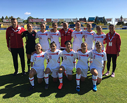 Womens U19s lost against Portugal: 3-0