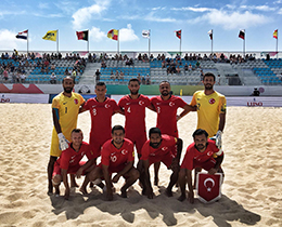 Beach Soccer National Team beat Azerbaijan: 6-2