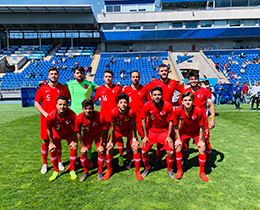 U18s lost against Argentina: 2-0