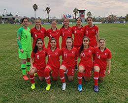 Womens U17s draw with Russia: 3-3