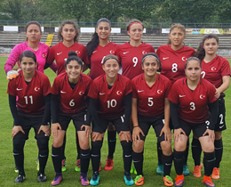 Womens U17 beat Russia: 2-1