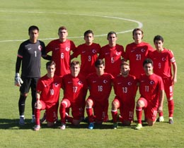 U18s drew against Germany: 0-0
