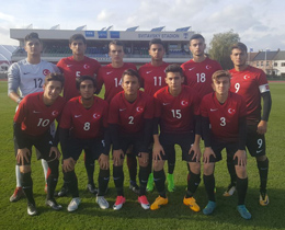 U17s (2001) lose to Israel: 1-0