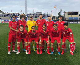 U18s lost against Portugal: 4-1