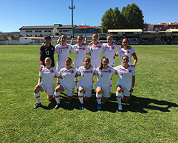 Womens U19s lost against Portugal: 5-0
