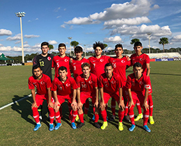 U17s lost against USA: 3-2