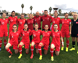 Womens A National Team draw 0-0 with Slovakia