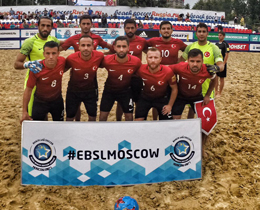 Beach Soccer National Team, qualify to B League Finals