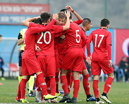 Turkey A beat Moldova in 20th Aegean Cup Kick-Off