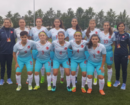 Womens U17s defeat Latvia: 7-0