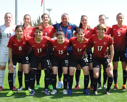 Womens U19s draw against Czech Republic: 2-2