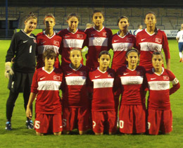 U17 Womens beat Bulgaria: 3-1