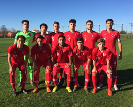 U18s beat Bosnia and Herzegovina: 2-1
