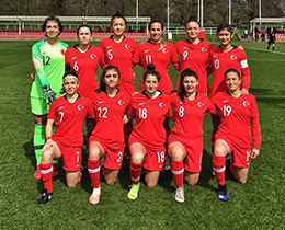 Womens U19s lost against Sweden: 3-0