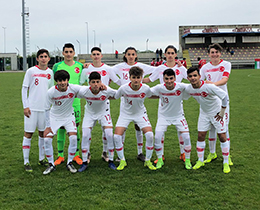 U15s beat United Arab Emirates: 2-1