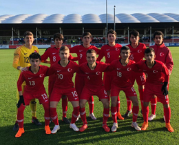 U15s lost against England: 7-2