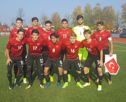 U17s (2001) draw against Czech Republic: 1-1
