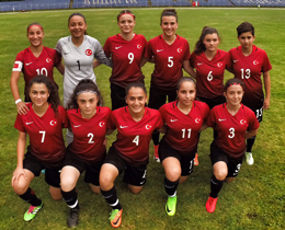Womens U17s beat Bulgaria in two friendlies