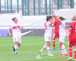 Womens A National Team beat Belarus: 3-0
