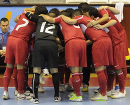 Turkeys squad announced for Futsal EURO 2012