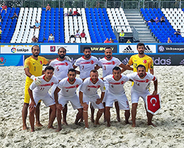 Beach Soccer National Team lost against Switzerland: 4-2