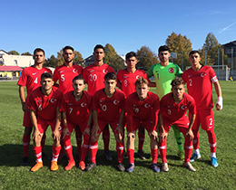 U18s draw with Sweden: 1-1
