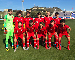 U18s lost against Romania: 3-2