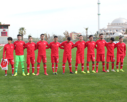 U17s lost against Italy: 2-0