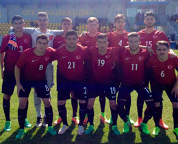 U18s beat Czech Republic: 1-0