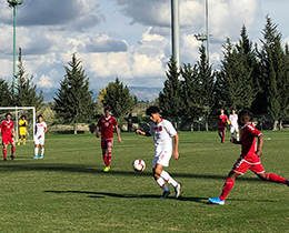 U16s lost against Denmark: 2-1