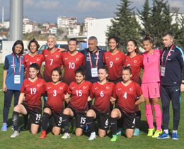 Womens U19s lose to Russia: 1-0