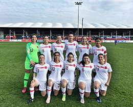 Womens U19s lost against Italy: 1-0