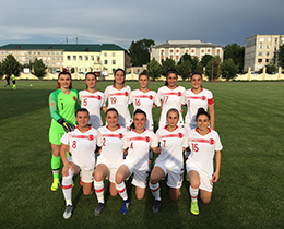 Womens A National Team beat Moldova: 2-0