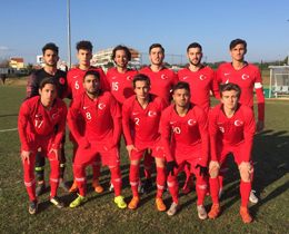U18s draw with Croatia: 1-1